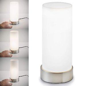 Lámpara de mesa táctil moderna
