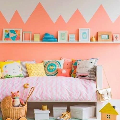 pared niños habitacion