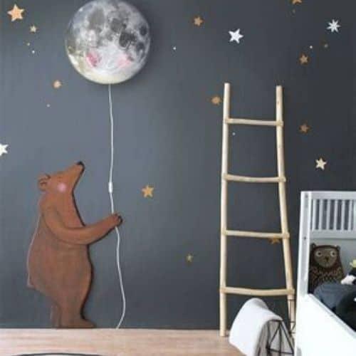 pared decorativa cuarto niños