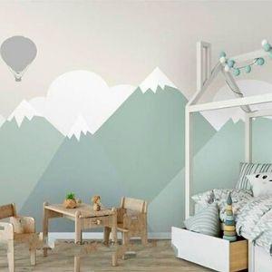 destacada decoración pared niño