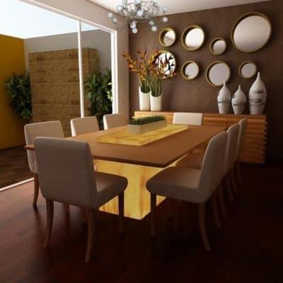 decoracion para mesas de comedor